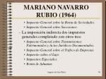 mariano navarro rubio 19642