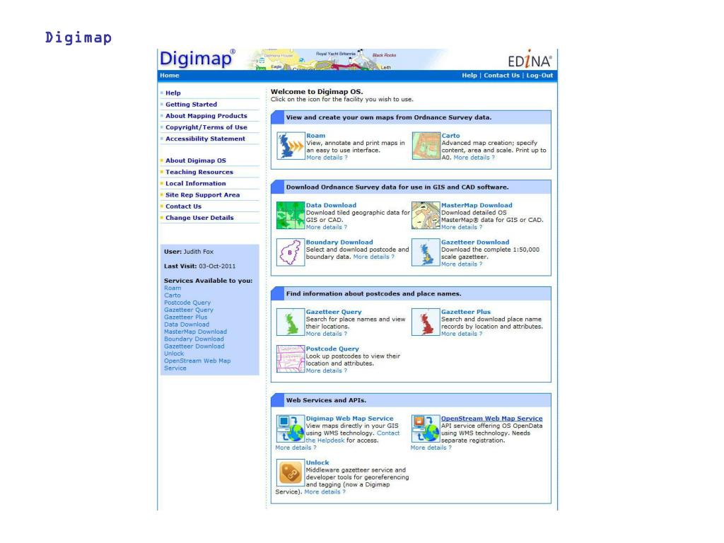 Ppt Digimap Powerpoint Presentation Free Download Id 4956660