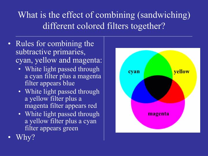 the affect of diffrent colored light One of the first scientists to consider the effect of colours was august pleasontonin 1876 he published 'the influence of the blue ray of sunlight and of the blue color of the sky' in which he studied how blue can stimulate the growth of plants and cattle.