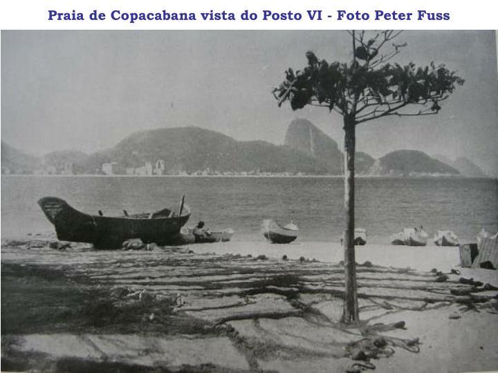 Praia de Copacabana vista do Posto VI - Foto Peter Fuss