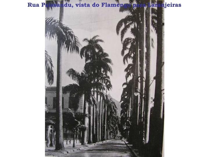 Rua paissandu vista do flamengo para laranjeiras