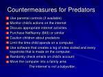 countermeasures for predators