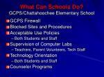 what can schools do gcps chattahoochee elementary school