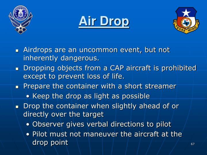 Air Drop