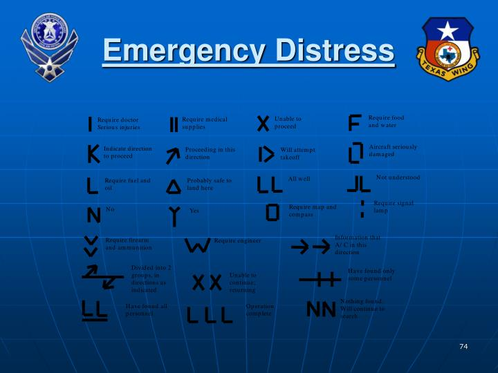 Emergency Distress