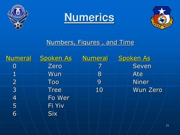 Numerics