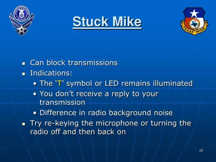Stuck Mike