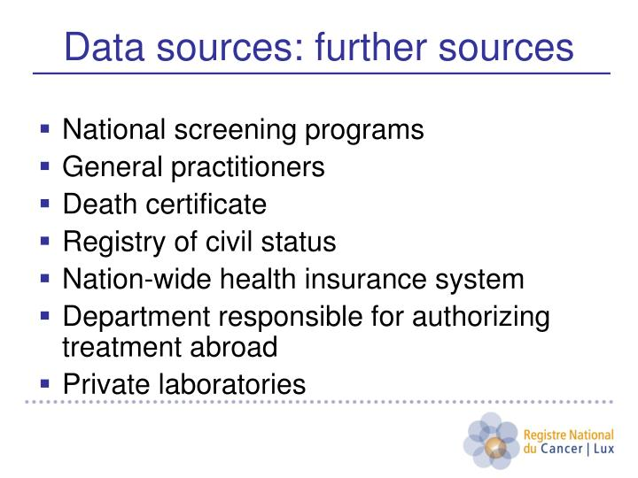 National screening programs