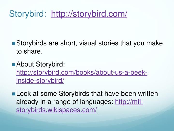 Storybird: