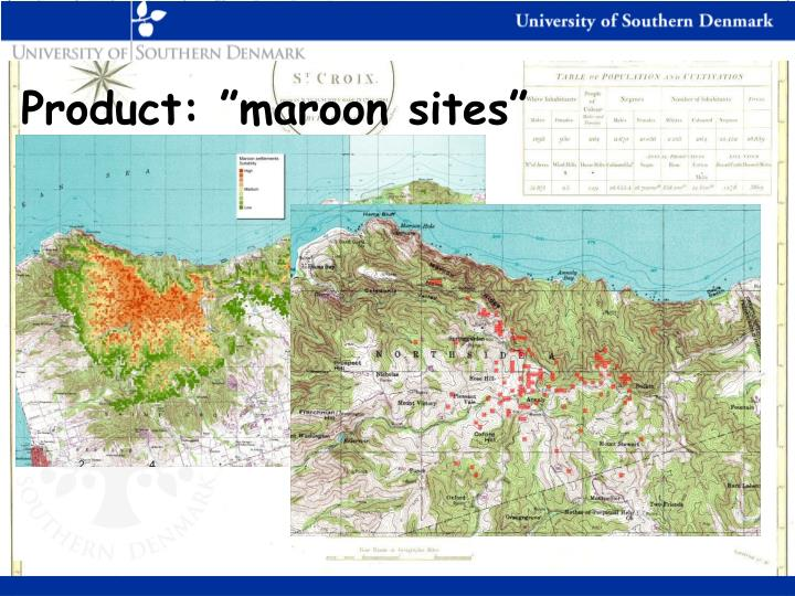 "Product: ""maroon sites"""