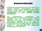 descentralizaci n