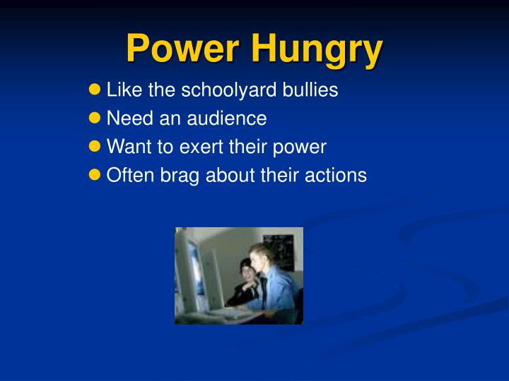 Power Hungry