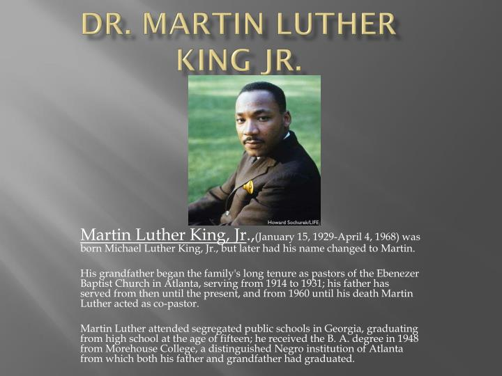 a connection between the main character in beowulf and dr martin luther king