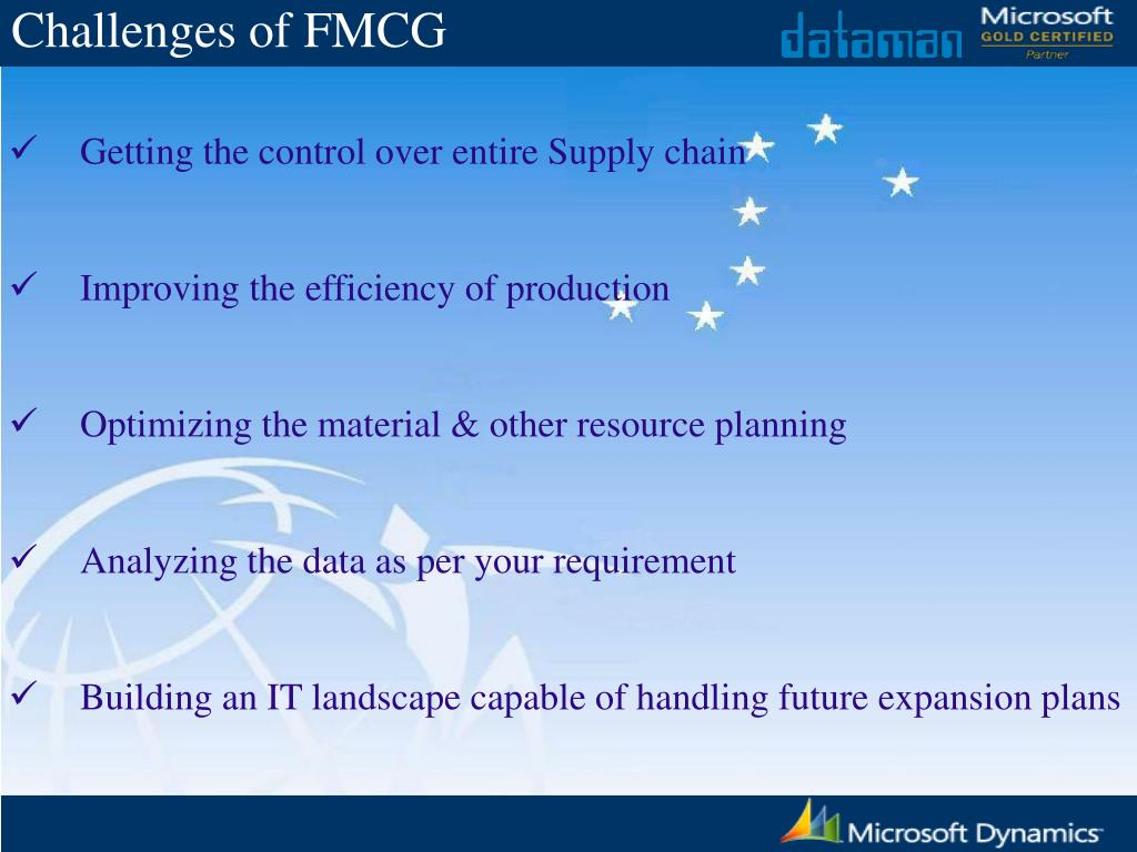 PPT - Solution for FMCG Industry PowerPoint Presentation