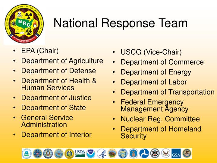 National response team
