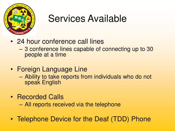 24 hour conference call lines
