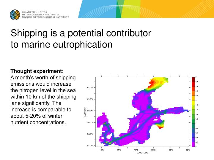 Shipping is a potential contributor