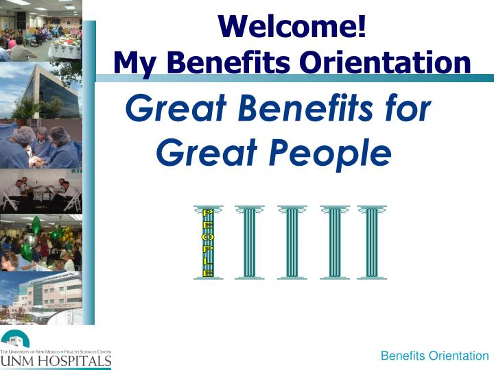 welcome my benefits orientation n.