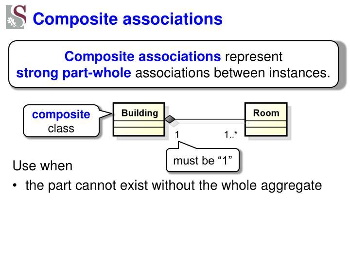 Composite associations