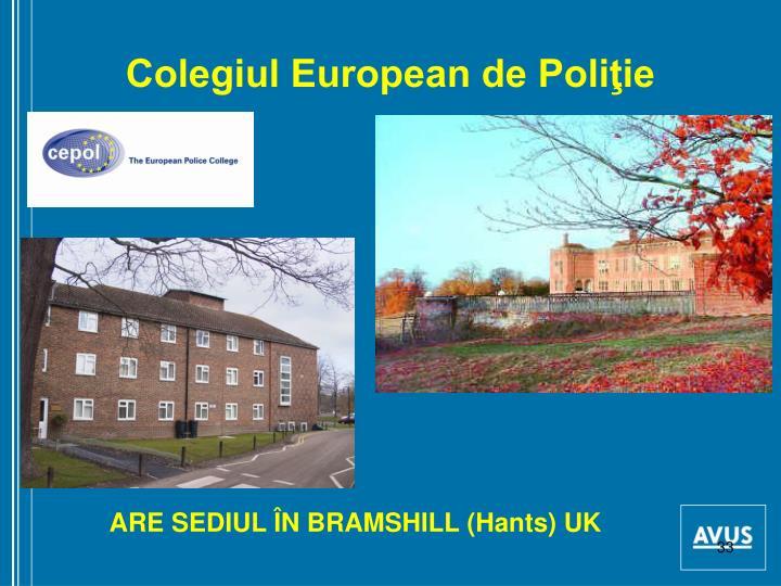 Colegiul European de Poliţie