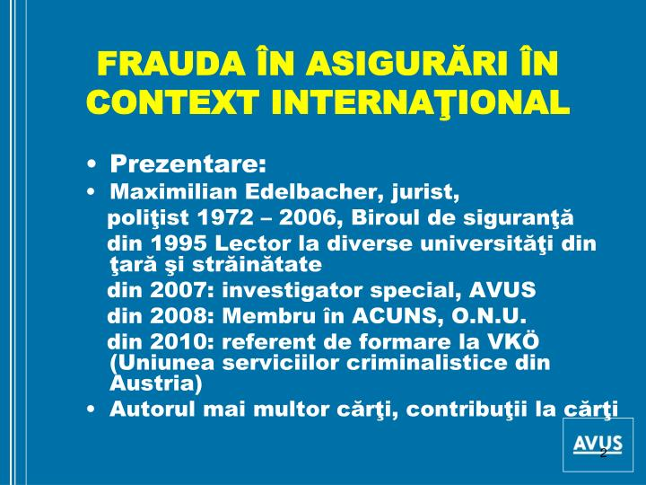 Frauda n asigur ri n context interna ional1