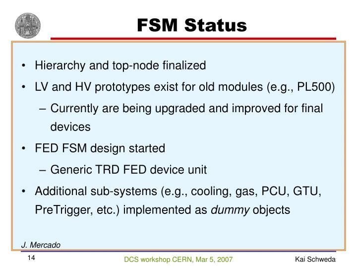 FSM Status