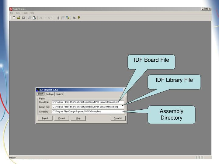 IDF Board File
