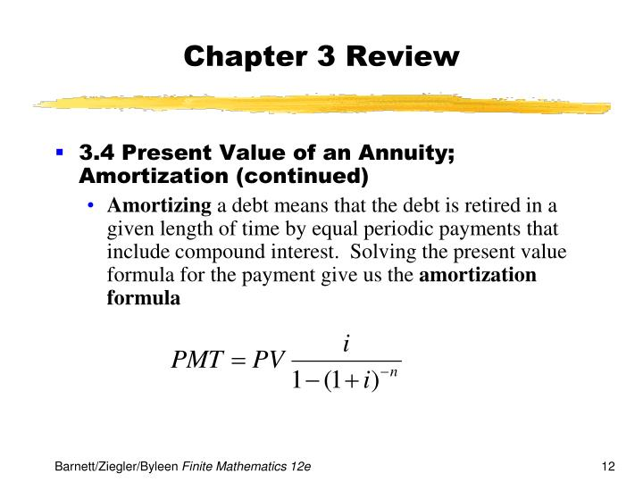 ppt chapter 3 mathematics of finance powerpoint presentation id