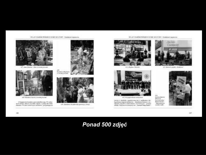 Ponad 500 zdjęć