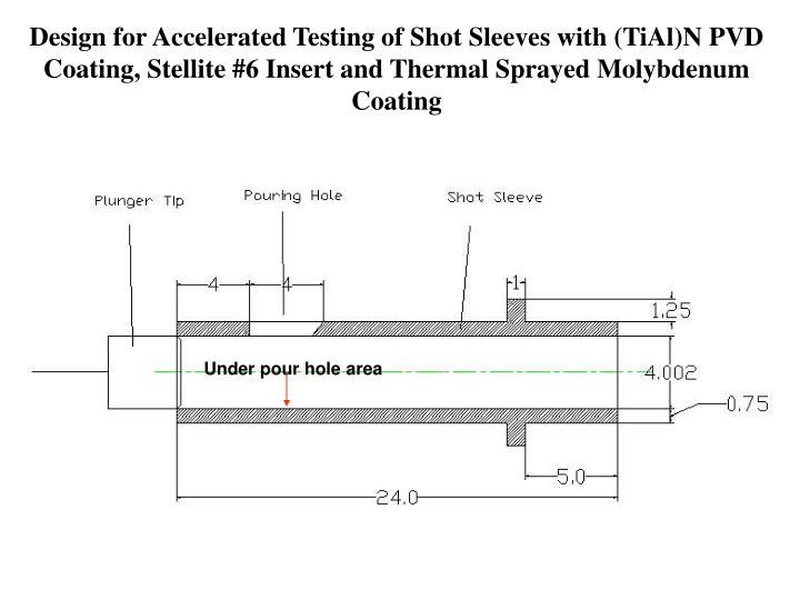 Under pour hole area