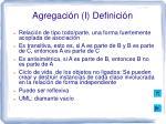 agregaci n i definici n