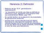 herencia i definici n