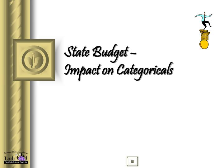 State Budget –