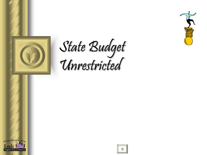 State Budget