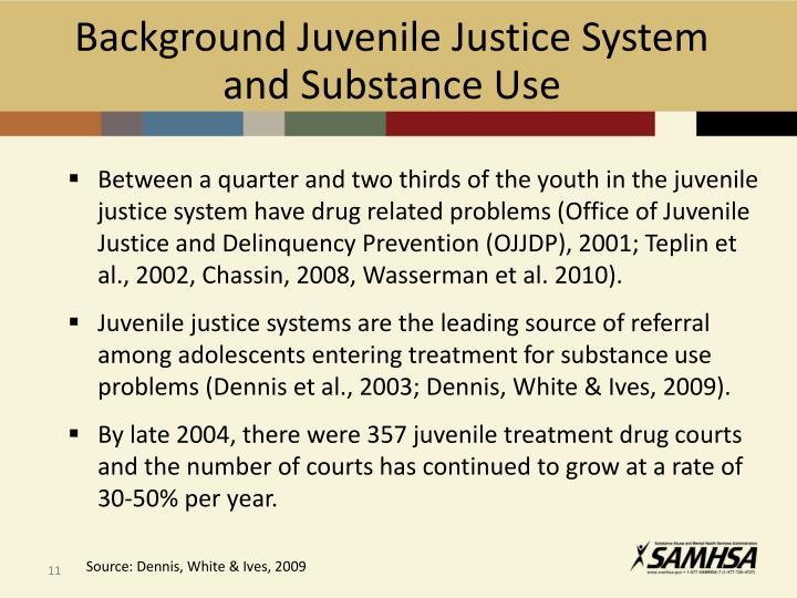 Background Juvenile Justice System