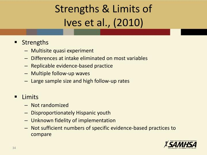 Strengths & Limits of