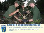s rskild ungdomsutbildning
