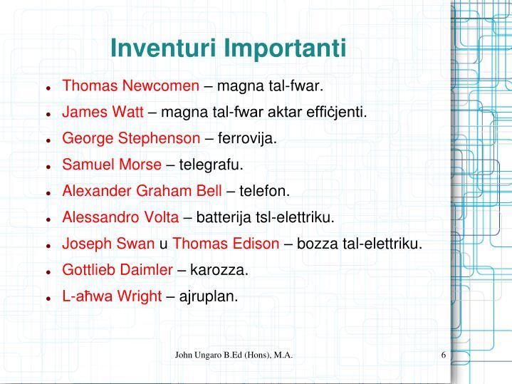 John Ungaro B.Ed (Hons), M.A.