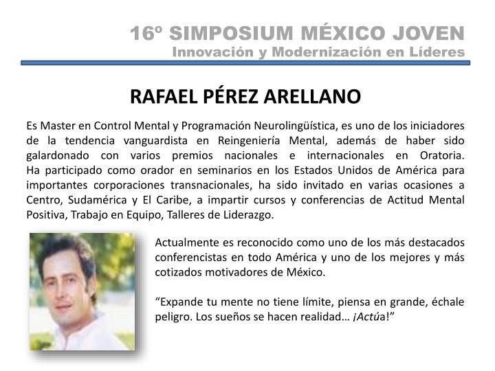 16º SIMPOSIUM MÉXICO JOVEN