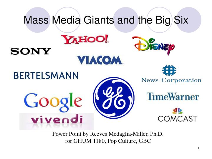 mass media corporations This statistic displays a ranking of the leading media companies based on the revenue they generated in 2017 the walt disney company ranked third, with revenue of.