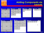 adding components via layouts1