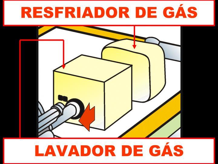 RESFRIADOR DE GÁS