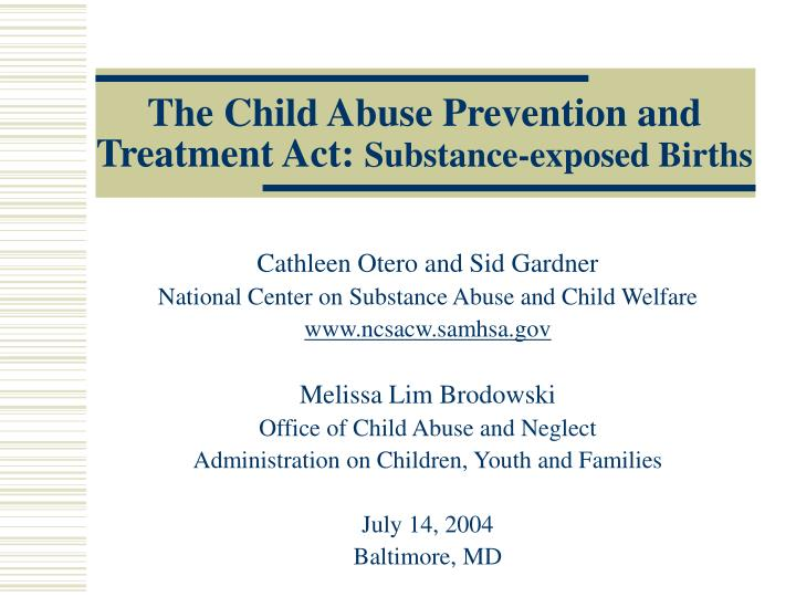 an analysis of the child abuse prevention and treatment act in the united states Citing legal materials in apa style published in volume 381 of united states reports and starting on child abuse prevention and treatment act of 1974.