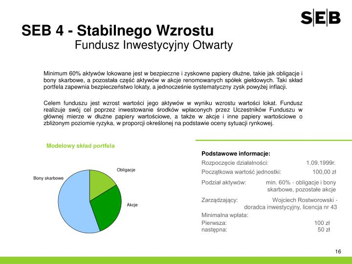 SEB 4 - Stabilnego Wzrostu
