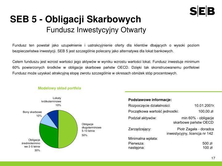 SEB 5 - Obligacji Skarbowych
