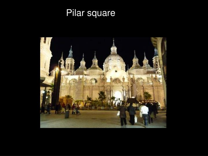Pilar square