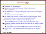 overview of sql1