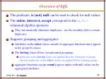 overview of sql2