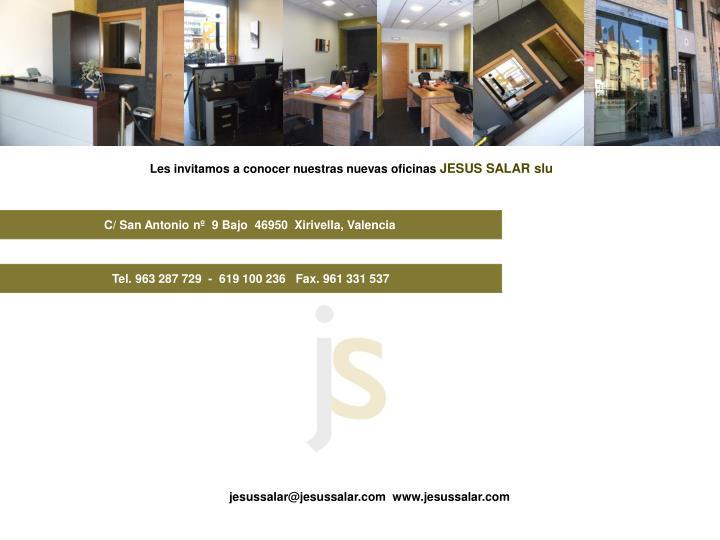 Les invitamos a conocer nuestras nuevas oficinas