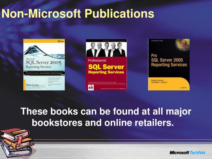 Non-Microsoft Publications